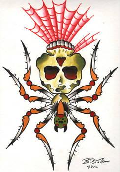 tattoo flash painting