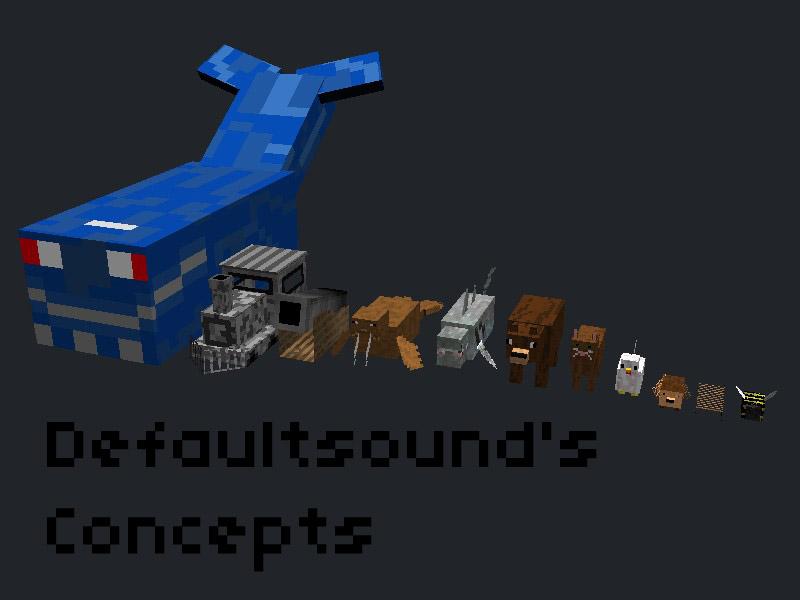Minecraft Concepts by Zakiz