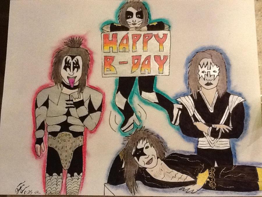 Kiss Birthday Card By Mavoleontspirit On Deviantart