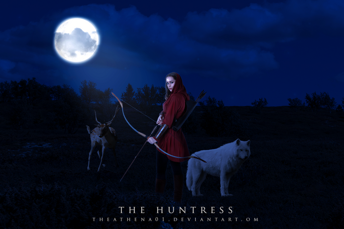 The Huntress by theathena01