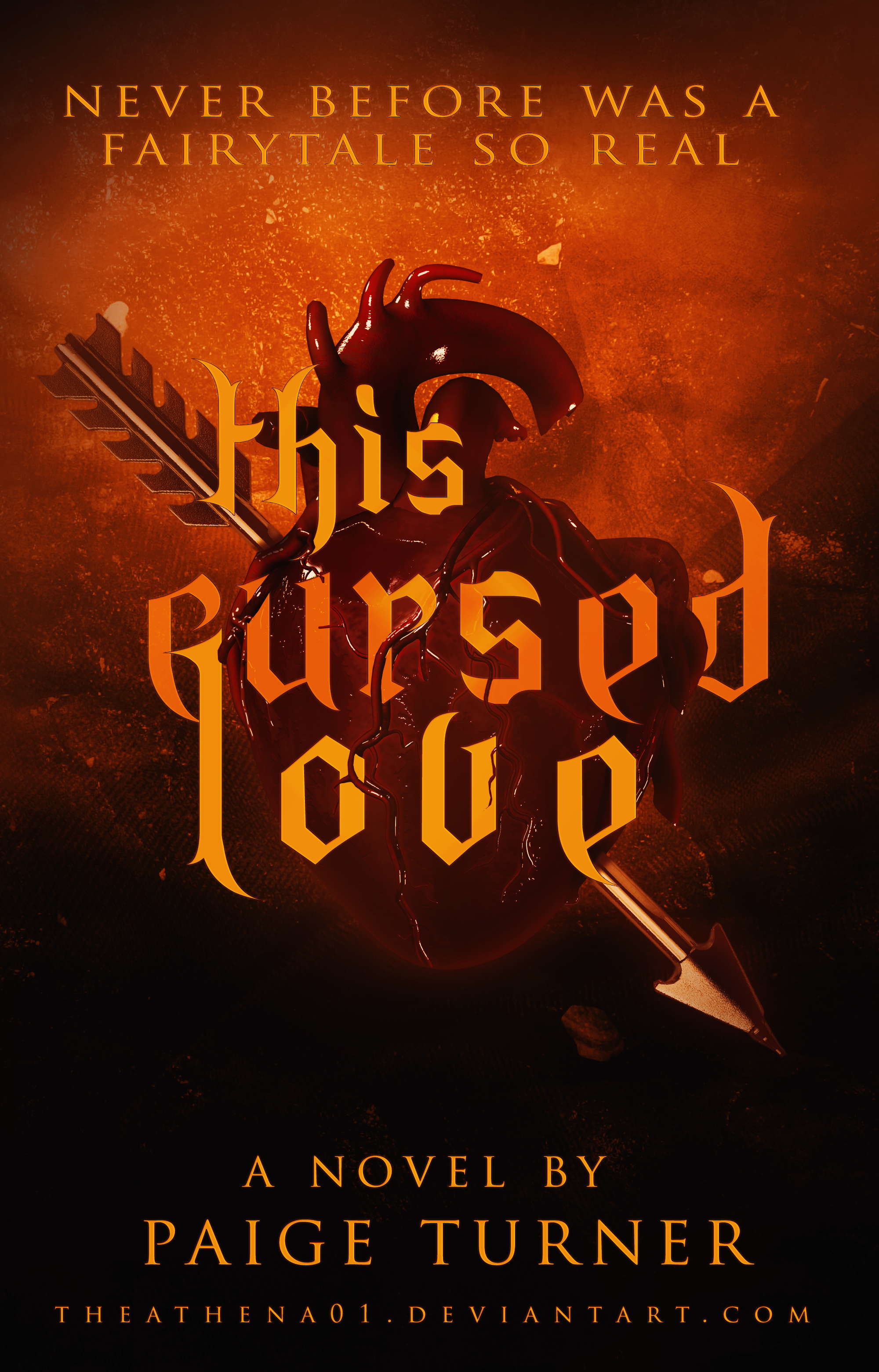this cursed love (book cover)