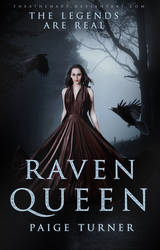 The raven queen (book cover)