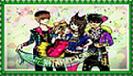 Mokuteki Paradise Stamp by 9Yukiko9