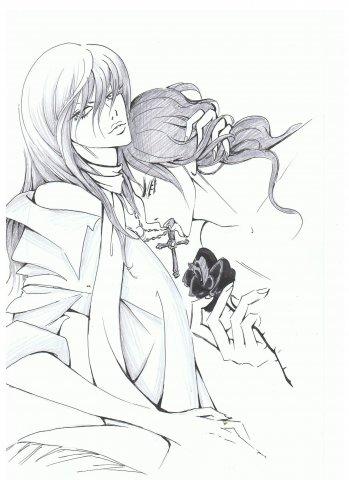 Black rose by Dino-tyan
