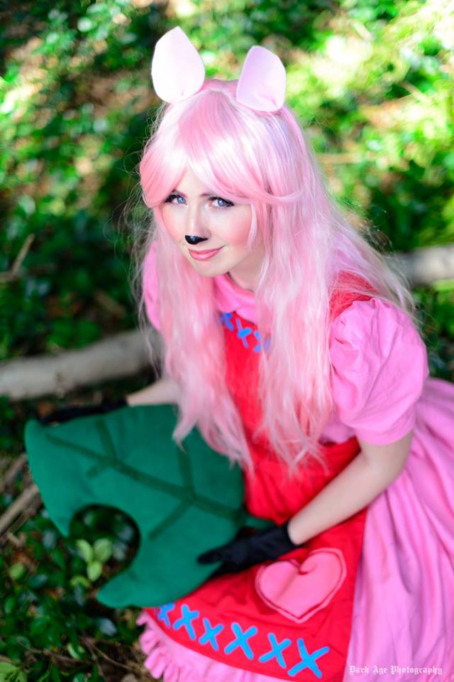 Reese Gijinka Cosplay from Animal Crossing by gaming-goddess
