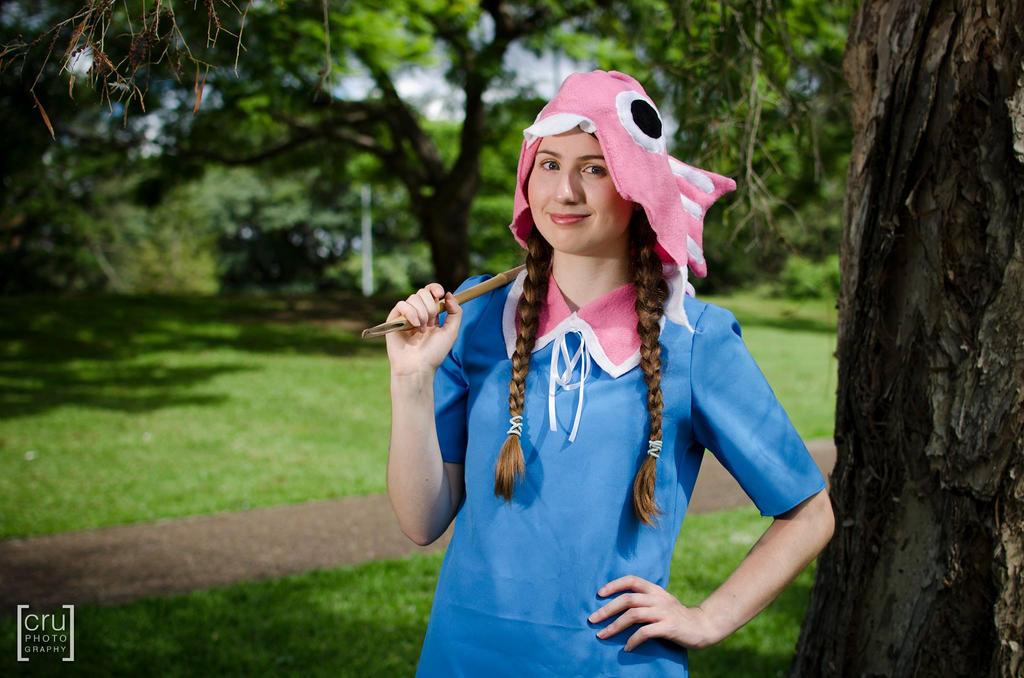 Angler from Fantasy Life by gaming-goddess