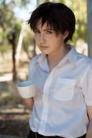 Shinji Ikari cosplay by gaming_goddess