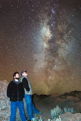 My Dad and I Under the Galactic Core