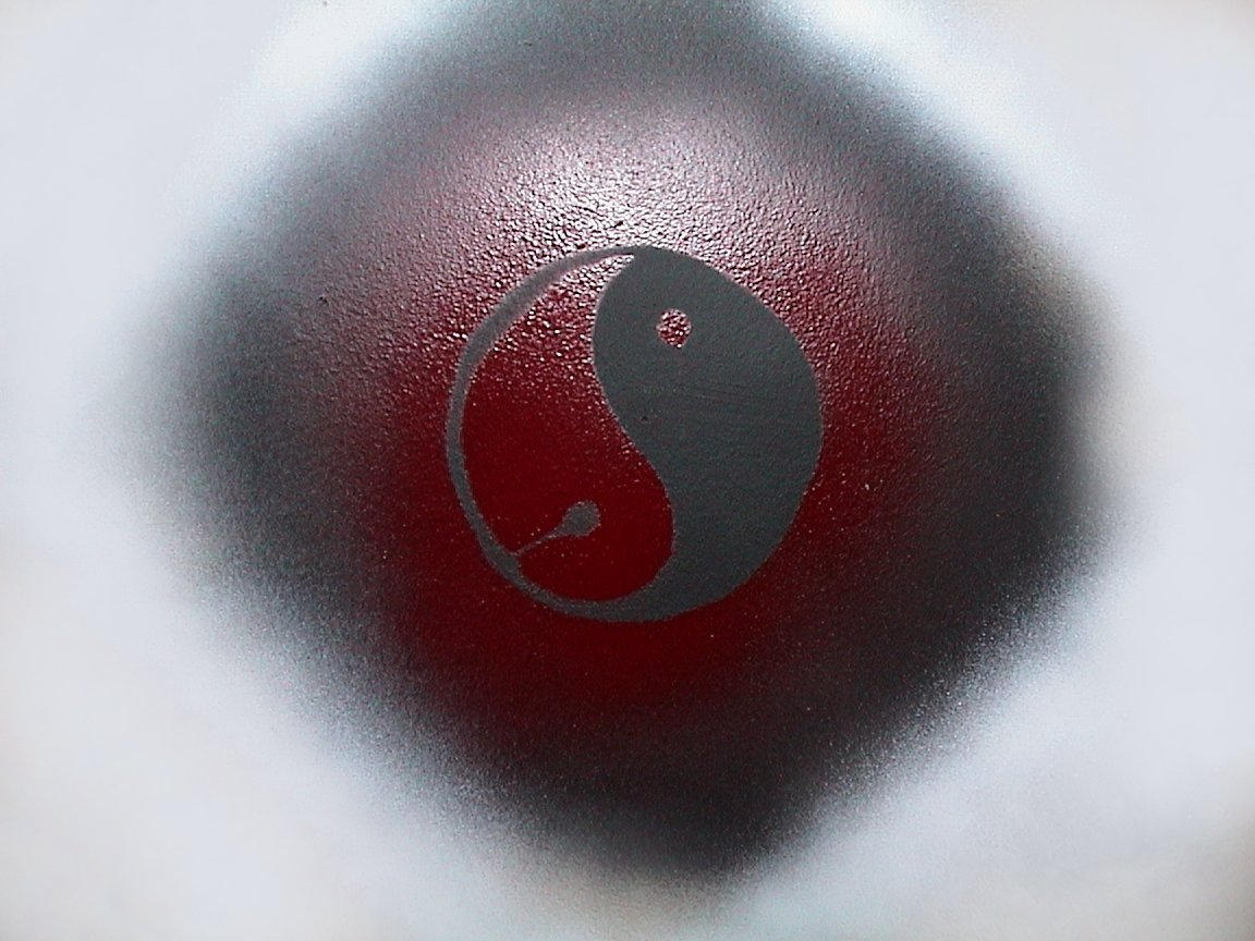 yin yang spray paint design by daemonecles on deviantart