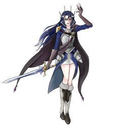 Lady Catilda, Dragonblood Princess by SixPackCharisma