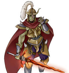Narrok, Prophet Of Grummsh by SixPackCharisma