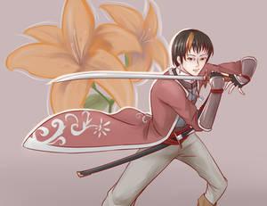Sogetsu, Swordman  of Falling Petals