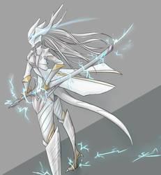 Leizi, The White Dragon