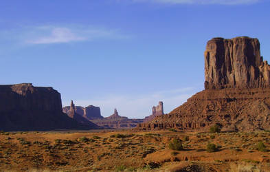 Monument Valley Stock by MiracleSky
