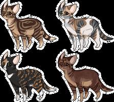 Flatsale Kitty Cats! : Closed! by Piney-licious