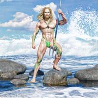 Aquaman by sagitarian71