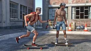 Skaters adventures 05