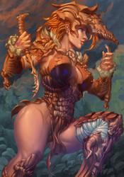 Shaman Girl by Eriyal