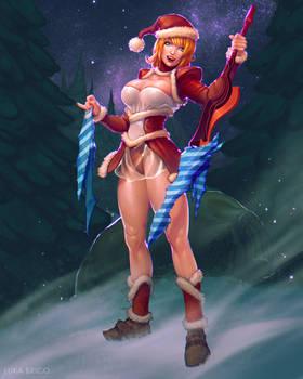 Padoru Christmas Girl