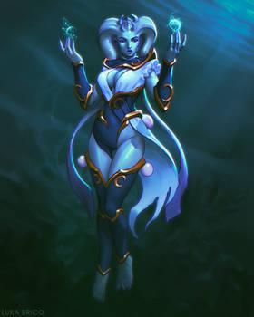 Lunar Priestess of the Sea