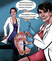 Dr. Cameron Foot Tickle by Bigfootfantasies