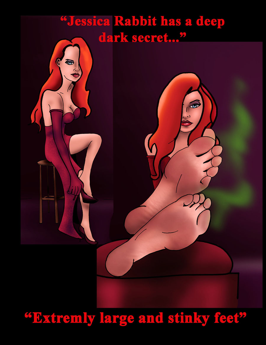 Jessica Rabbit The Real Secret by Bigfootfantasies