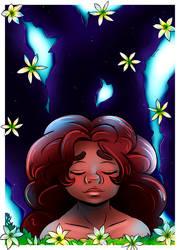 Harlowe and the rain flower