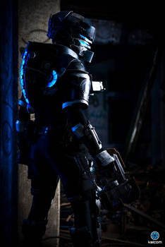 Dead Space cosplay - Alone in the dark