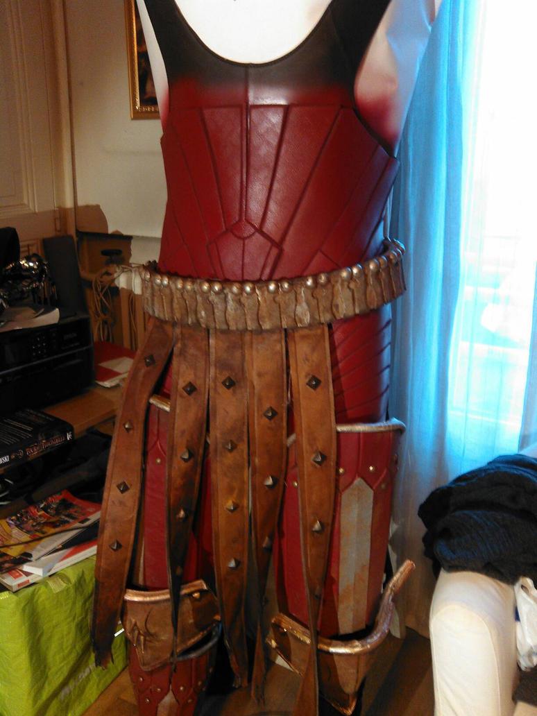 Eredin's body suit v2 little test by tarrer