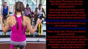 Workout partner Part 1