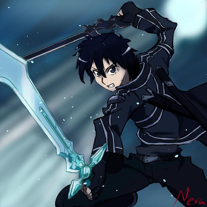 Sword Art Online fan art - Kirito by Ziik7 on DeviantArt