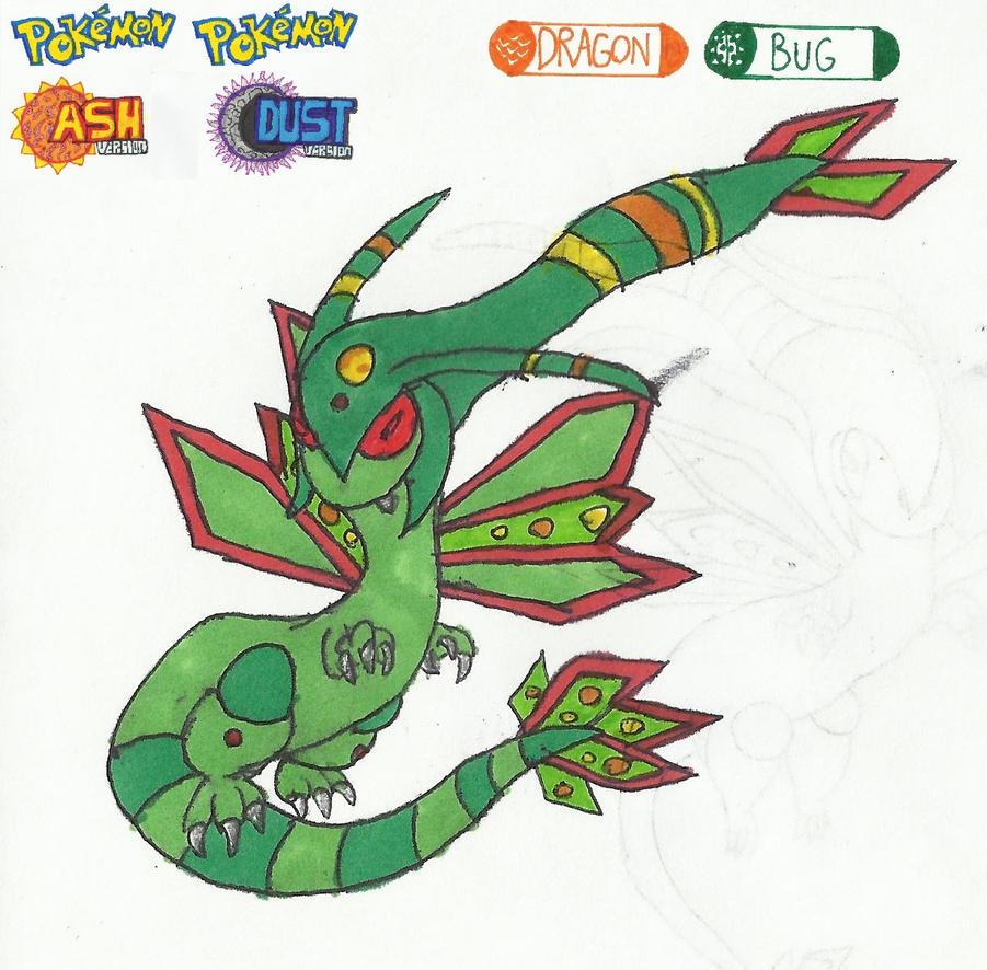 Pokemon Flygon Mega Ash