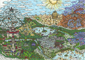 Some Fantasy Map by ProtoTypedKnife