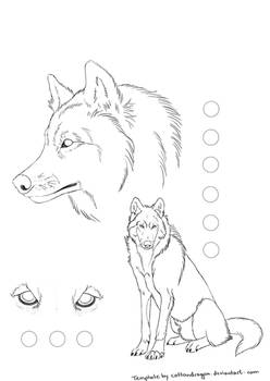 wolf template