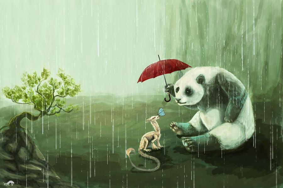 dragon panda