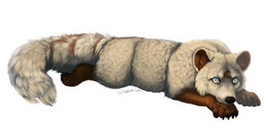 Blind Fox by cottondragon