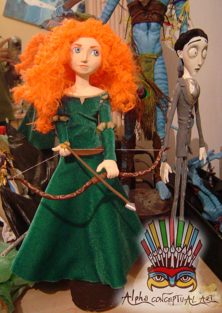 sculpture Merida by espectrolune