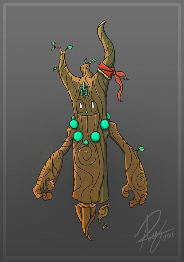 Friendly Tree Spirit by Reganov