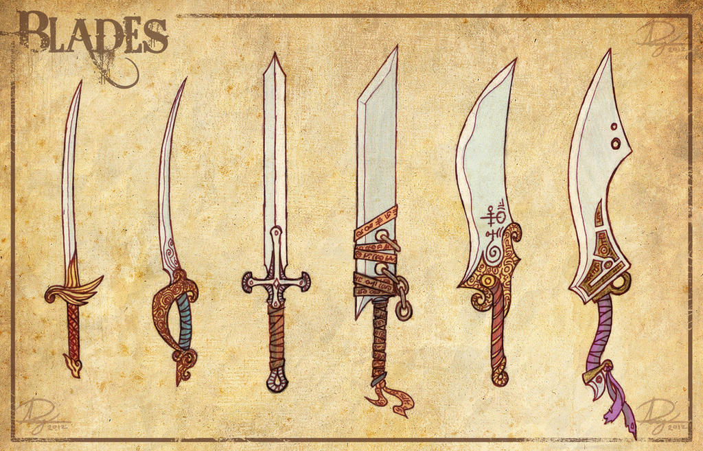 Cool Sword Designs