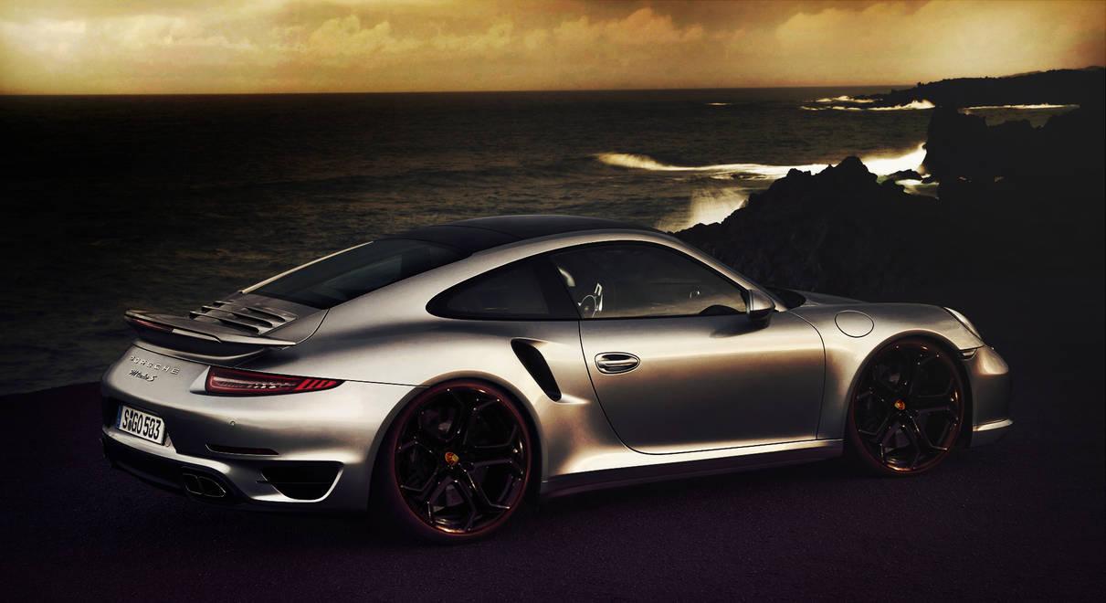 Porsche 911 Turbo S Wallpaper by GFXy ...