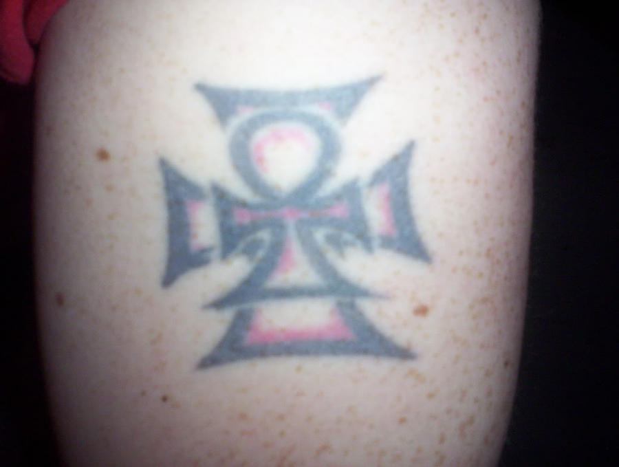 Pin Ankh Cross Meaning...