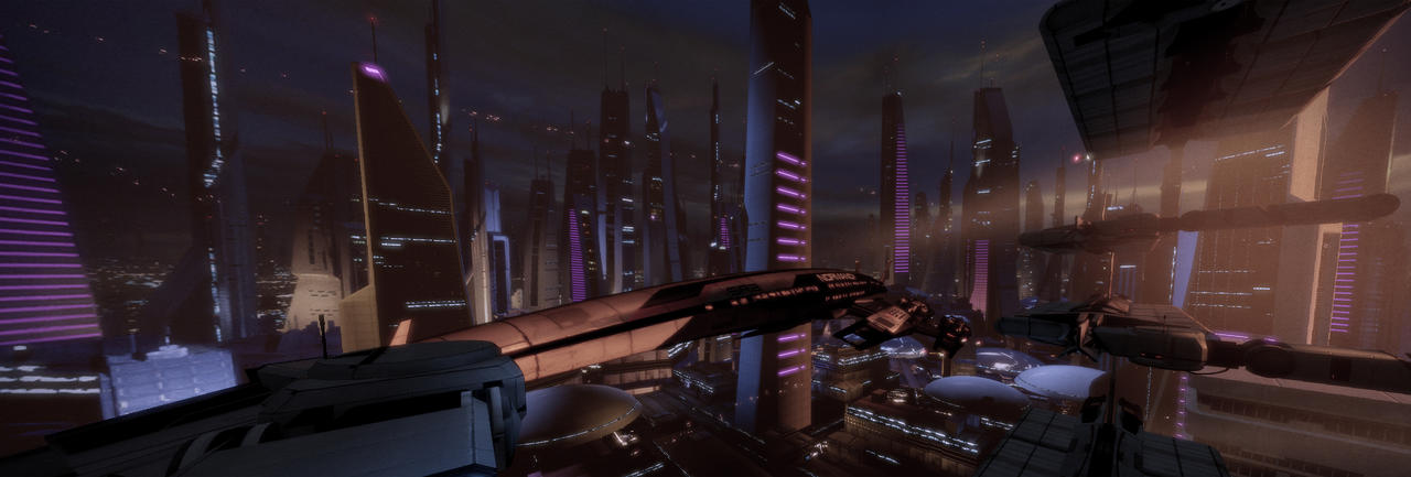 The Normandy on Illium by MichaWha