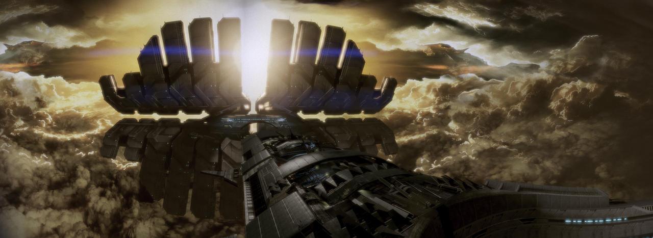 Shadow Broker's ship by MichaWha
