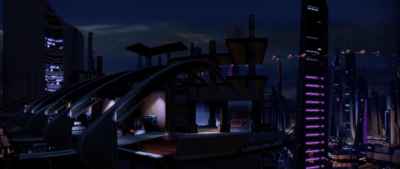 Mass Effect 2 pano 23 by MichaWha