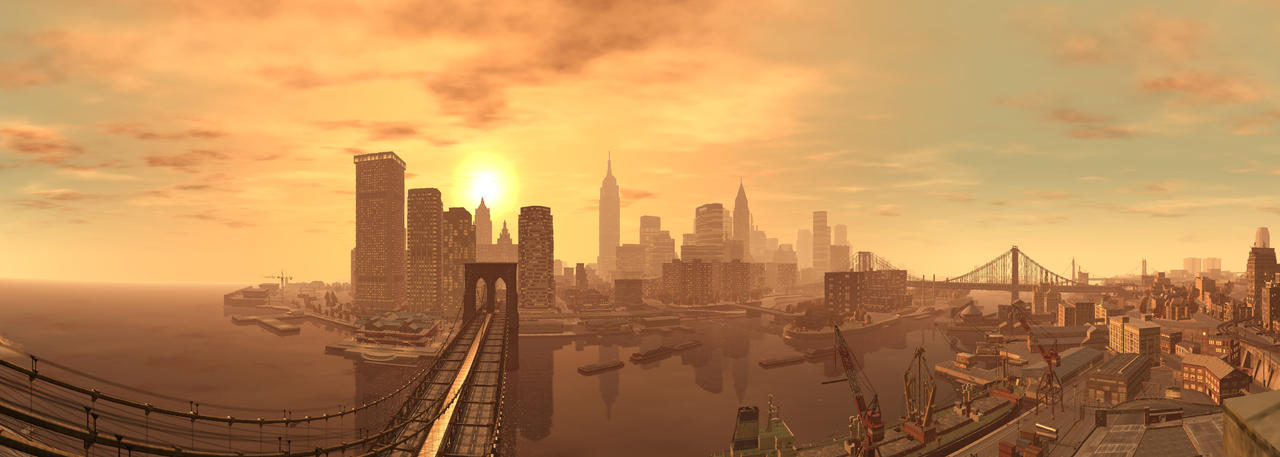GTA IV - Panorama 10 by MichaWha
