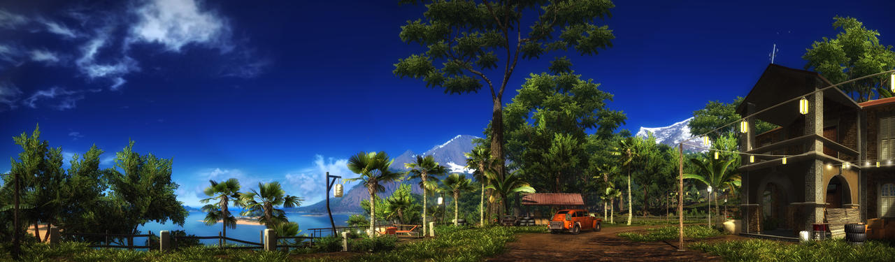 Just Cause 2 pano01 by MichaWha