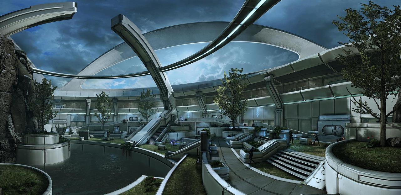 Mass Effect 3 - pano 03 by MichaWha