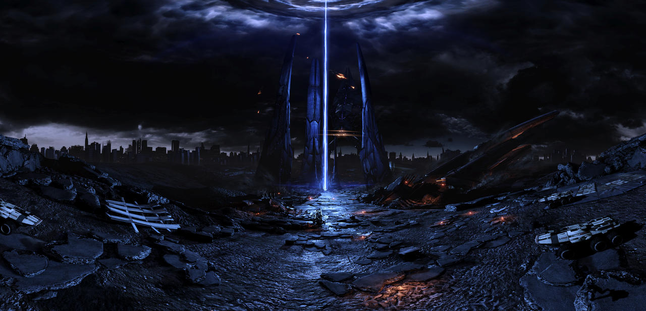 Mass Effect 3 - pano 05 by MichaWha