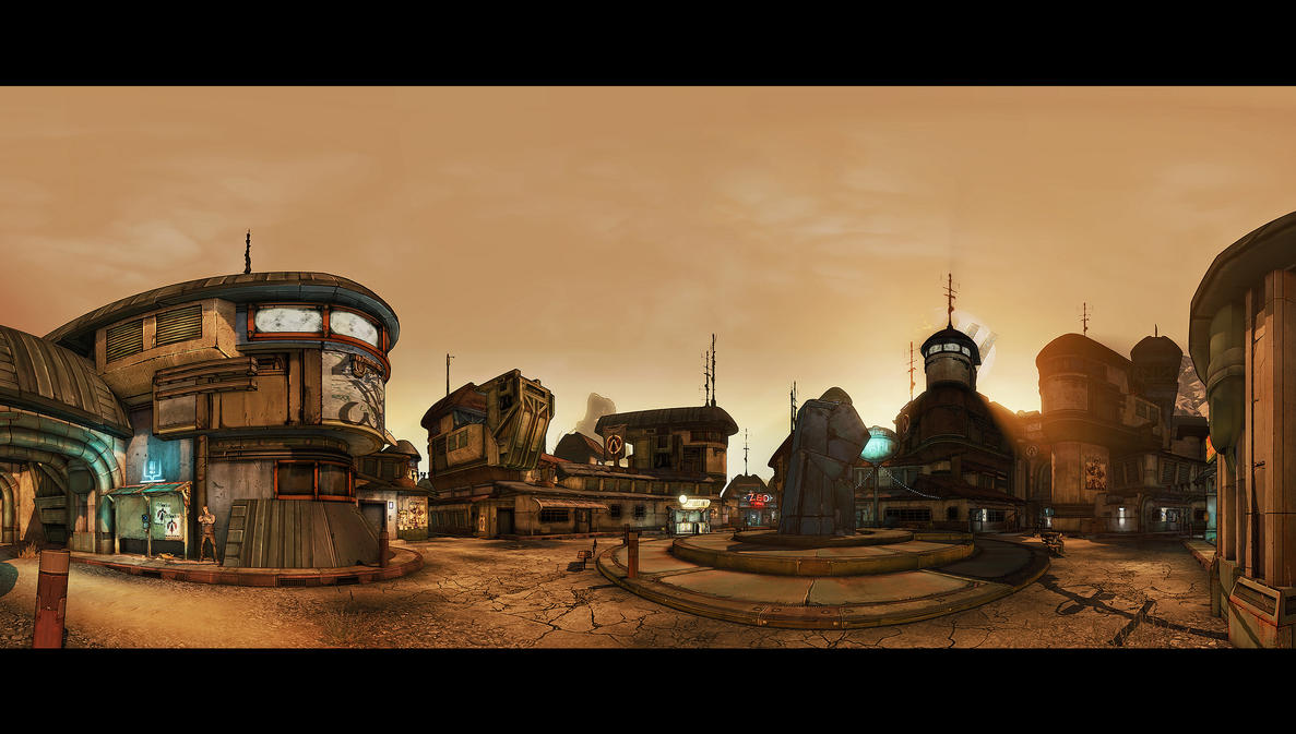Borderlands2 - Pano 01 by MichaWha