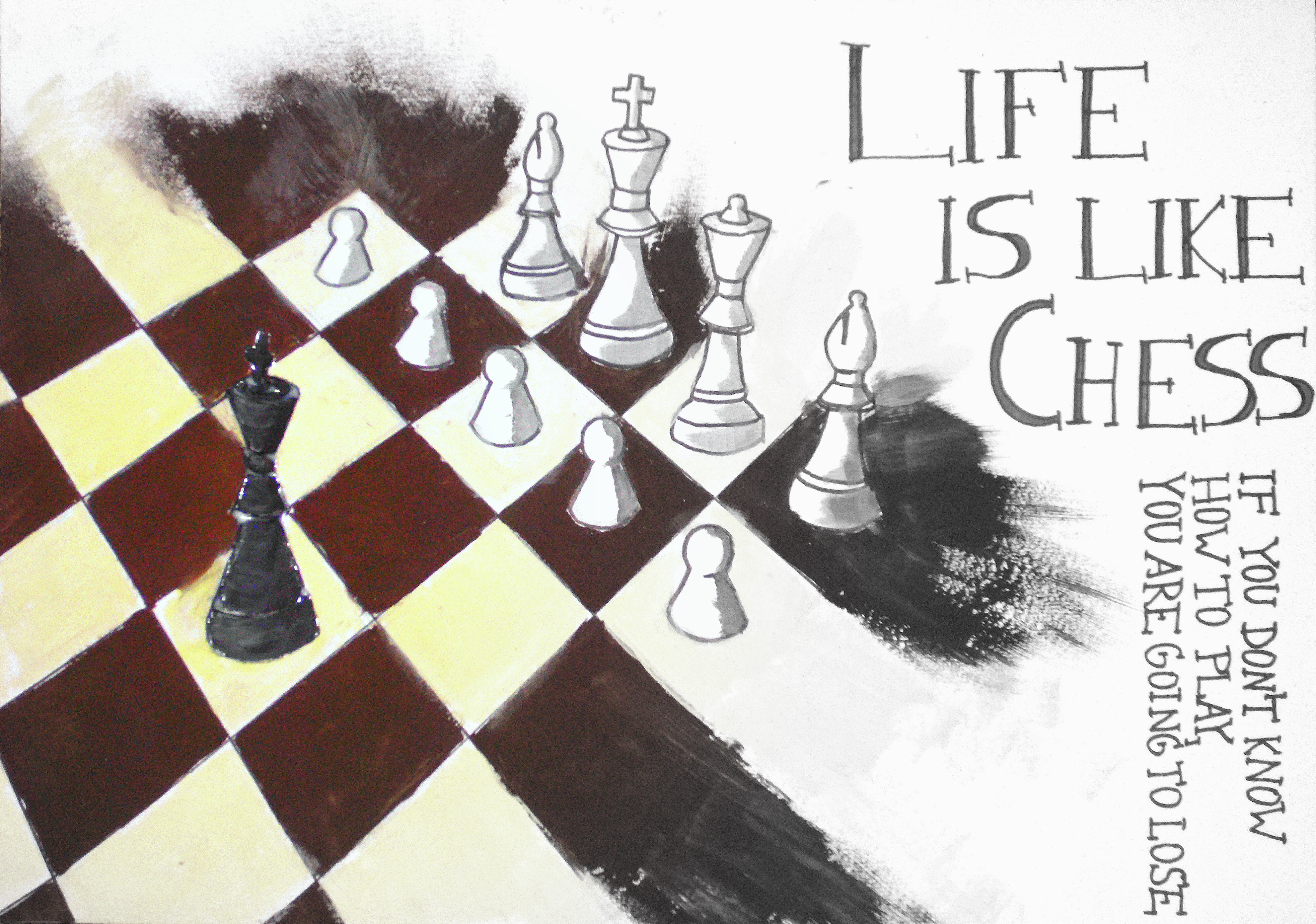 life is like a chess 7 things i've learned about life from playing chess spanier april 6, 2013  mind 45 comments  and it is a canvas whereupon great players create masterpieces, like famous paintings.